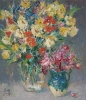 vases with flowers 1991